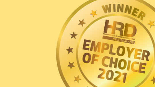 Total Oil New Zealand named Employer of Choice 2021